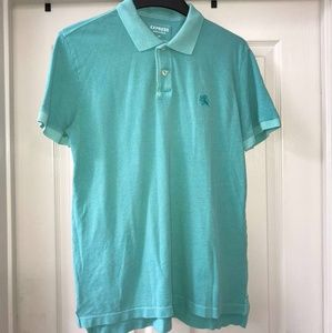 Mens Express Pique Polo in Turquoise
